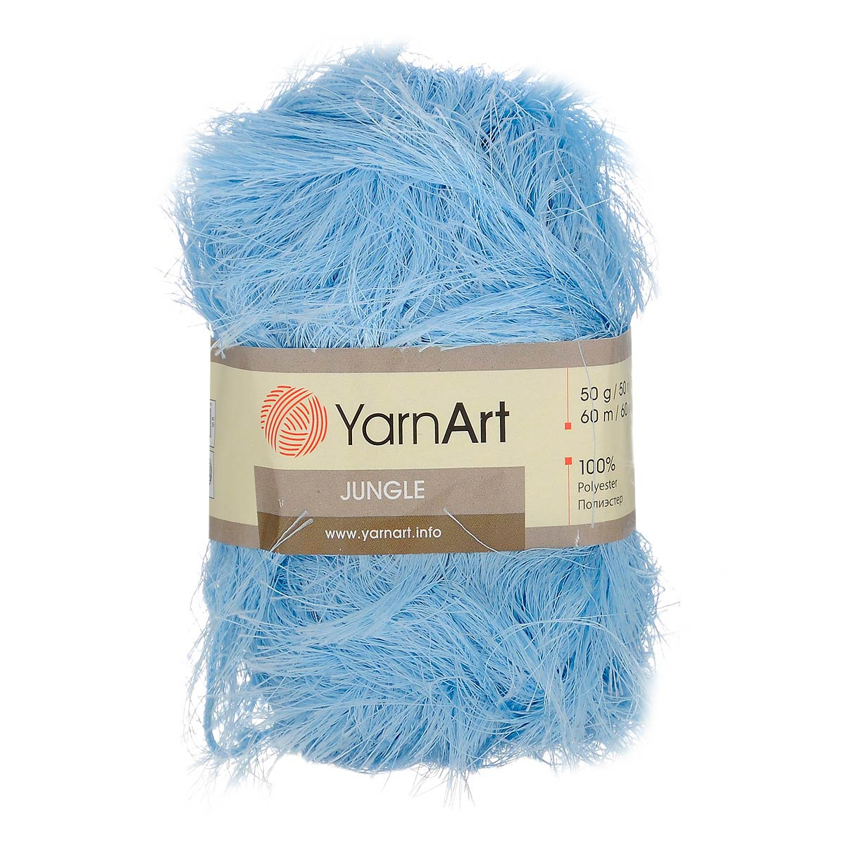 Пряжа Yarn art «Jangle» (100%полиэстер)