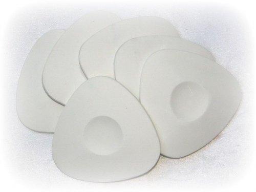 Мелки овальные белые мяг. (уп. 30шт)