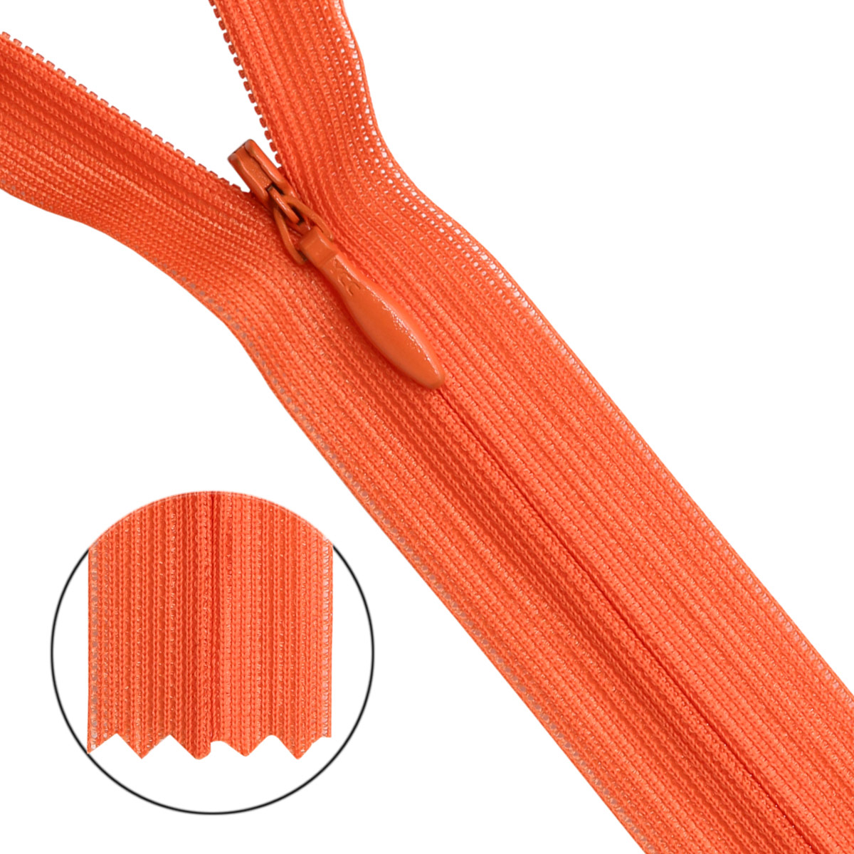 31232/20 Молния потайн. пл/мет-1 тип-3 морк.