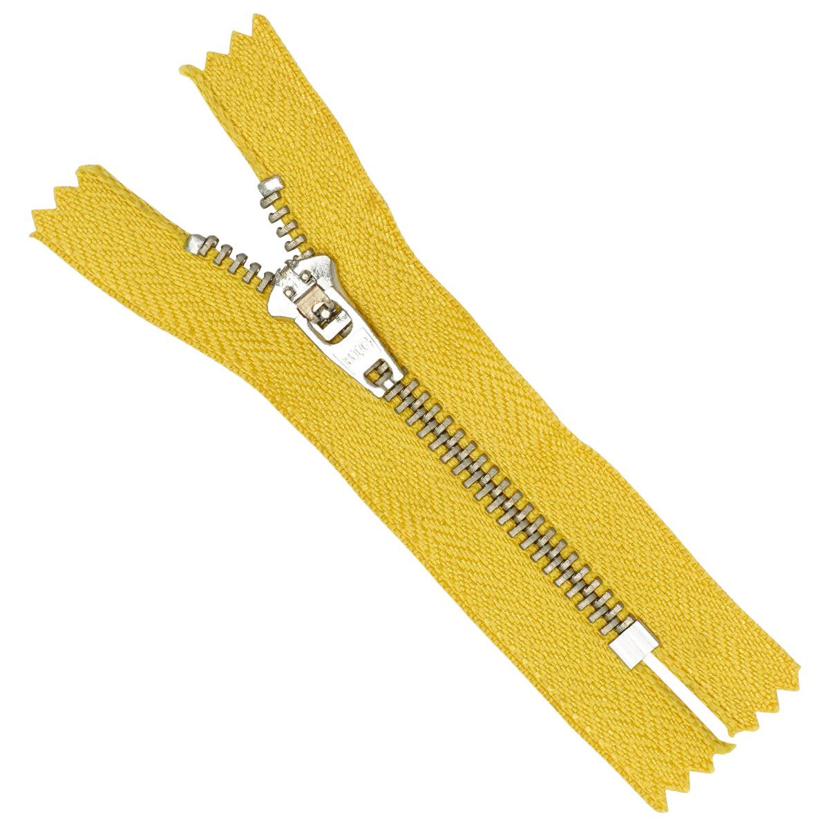 38998/08-Н Молния джинсовая 8см желтый