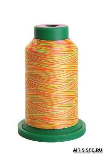 Нитки Izacord 40 мультиколор вышивальная нить (100% полиэстер)