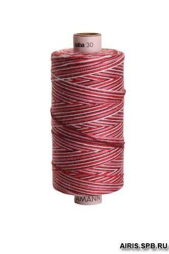 Нитки Saba-С 30* отделочная нить мультиколор (100% полиэстер)