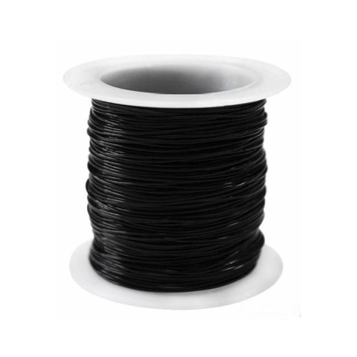 0215-1000 Леска для бисера, 0,6 мм*30 м (черный) фото