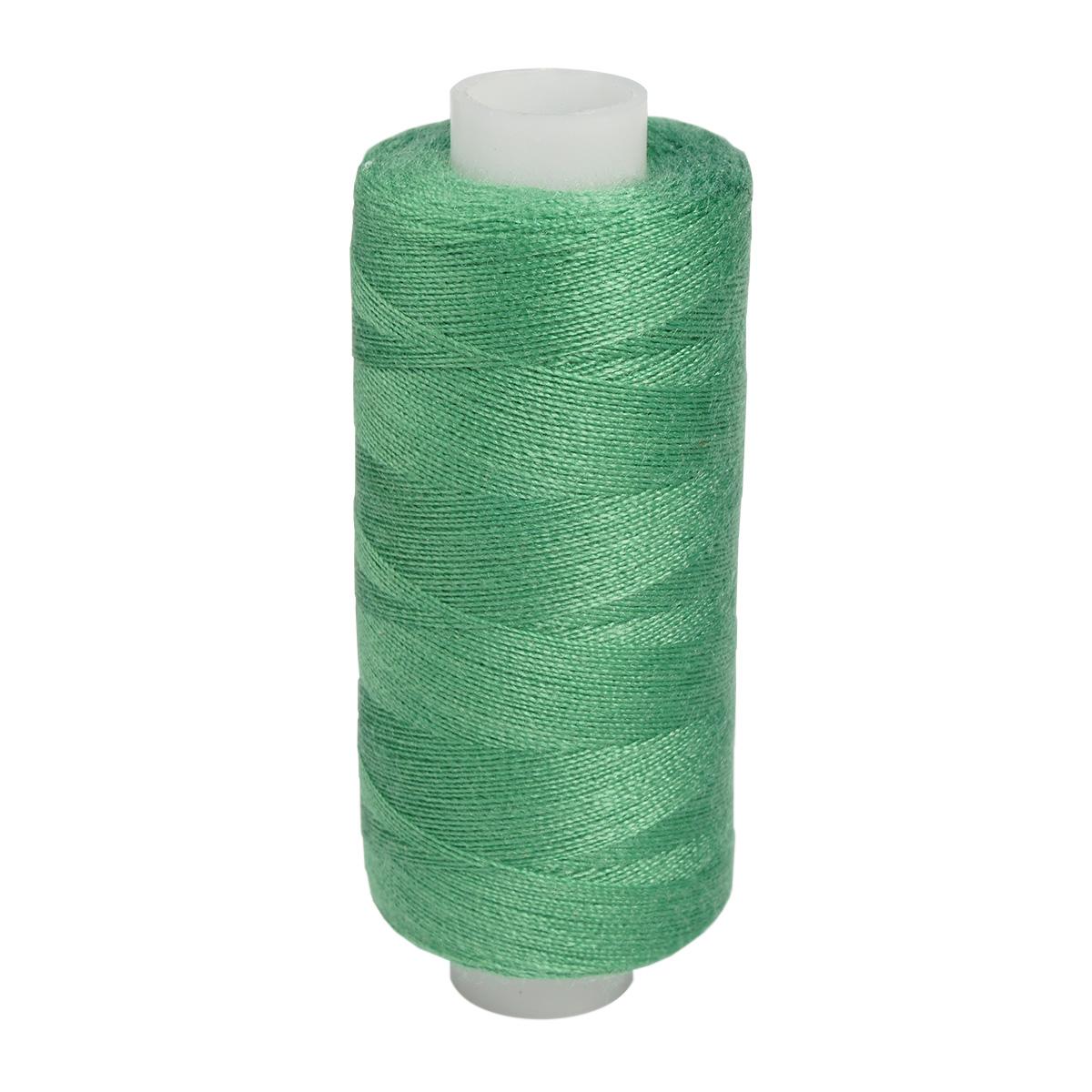 Нитки, 40/2, 400 ярд., 100% полиэстер, Bestex (132 св.зеленый) фото
