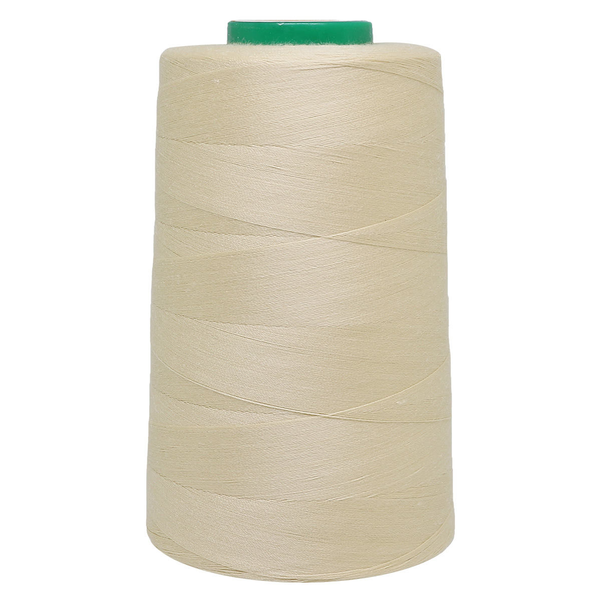 Универсальная швейная нить, 40/2, 5000 ярд, 100% пэ, Bestex (155 молочный) фото