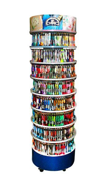 Комплект ниток для вышив. DMC (117-447цв., 117MC-16цв., 317-36цв.,417-36цв.,1008-60цв.)