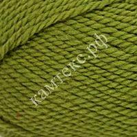 Пряжа Камтекс 'Пышка' (100%шерсть) (038 оливковый) фото