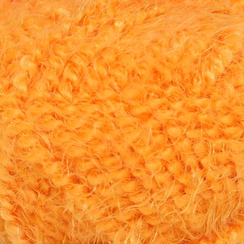 Пряжа Камтекс 'Лотос травка стрейч' (70%акрил, 28%полиамид, 2%лайкра) (035 оранжевый) фото