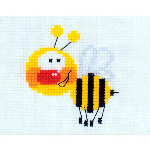 НВ-001 (П-001) Набор для вышивания Riolis 'Пчелка', 13*16 см