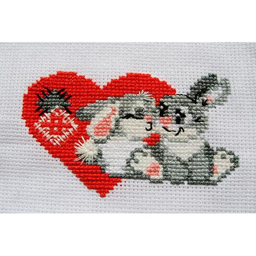 НВ-016 (П-016) Набор для вышивания Riolis 'Зайка моя', 13*16 см