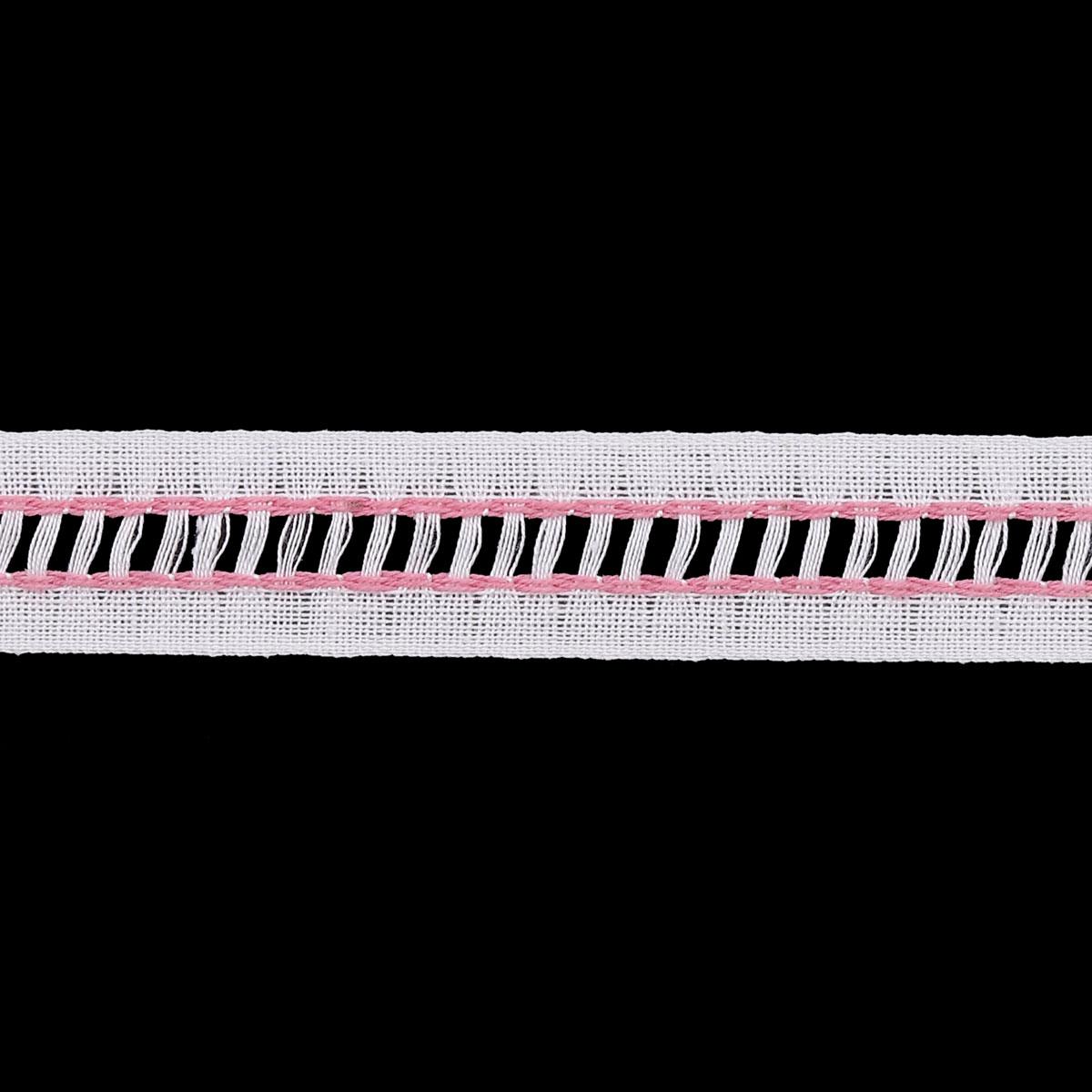 51 Лента отделочная мережка 19мм.*50м. (х/б)
