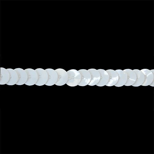 07-9602 Пайетки бел. 20м