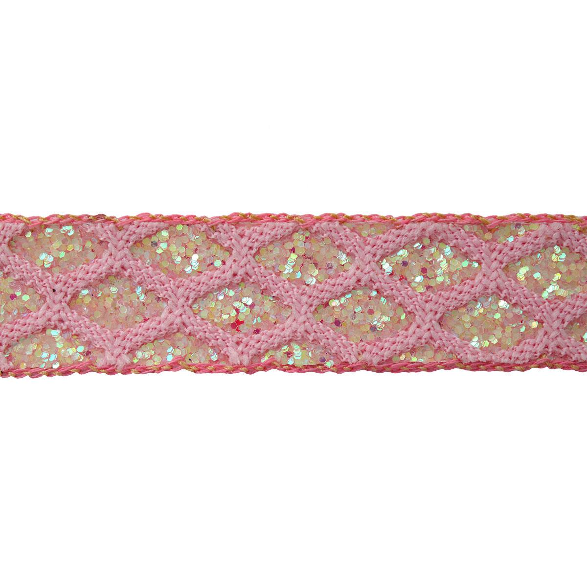 Тесьма CTZ3861 (св. розовый)