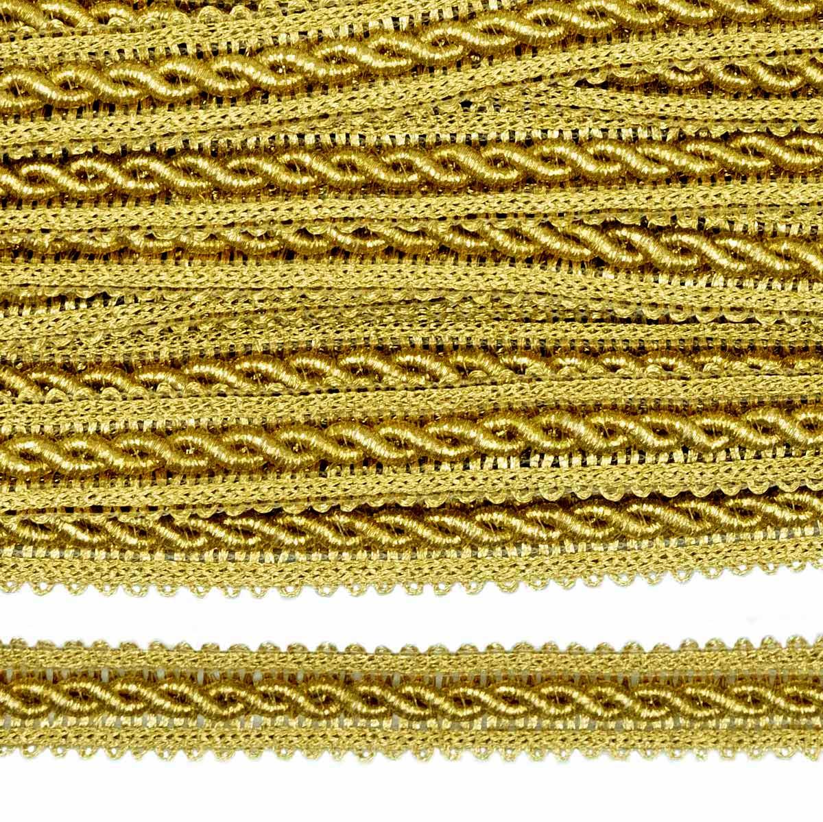 23-1098 Тесьма метал.14мм. ГР