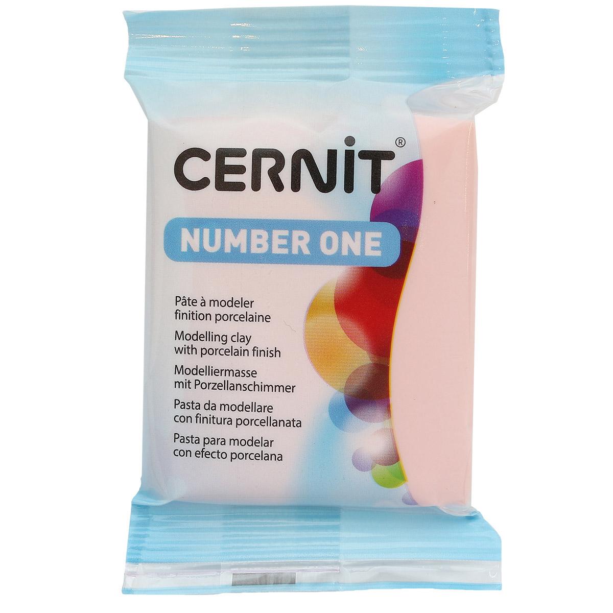 CE0900056 Пластика полимерная запекаемая 'Cernit № 1' 56-62 гр. (475 розовый)
