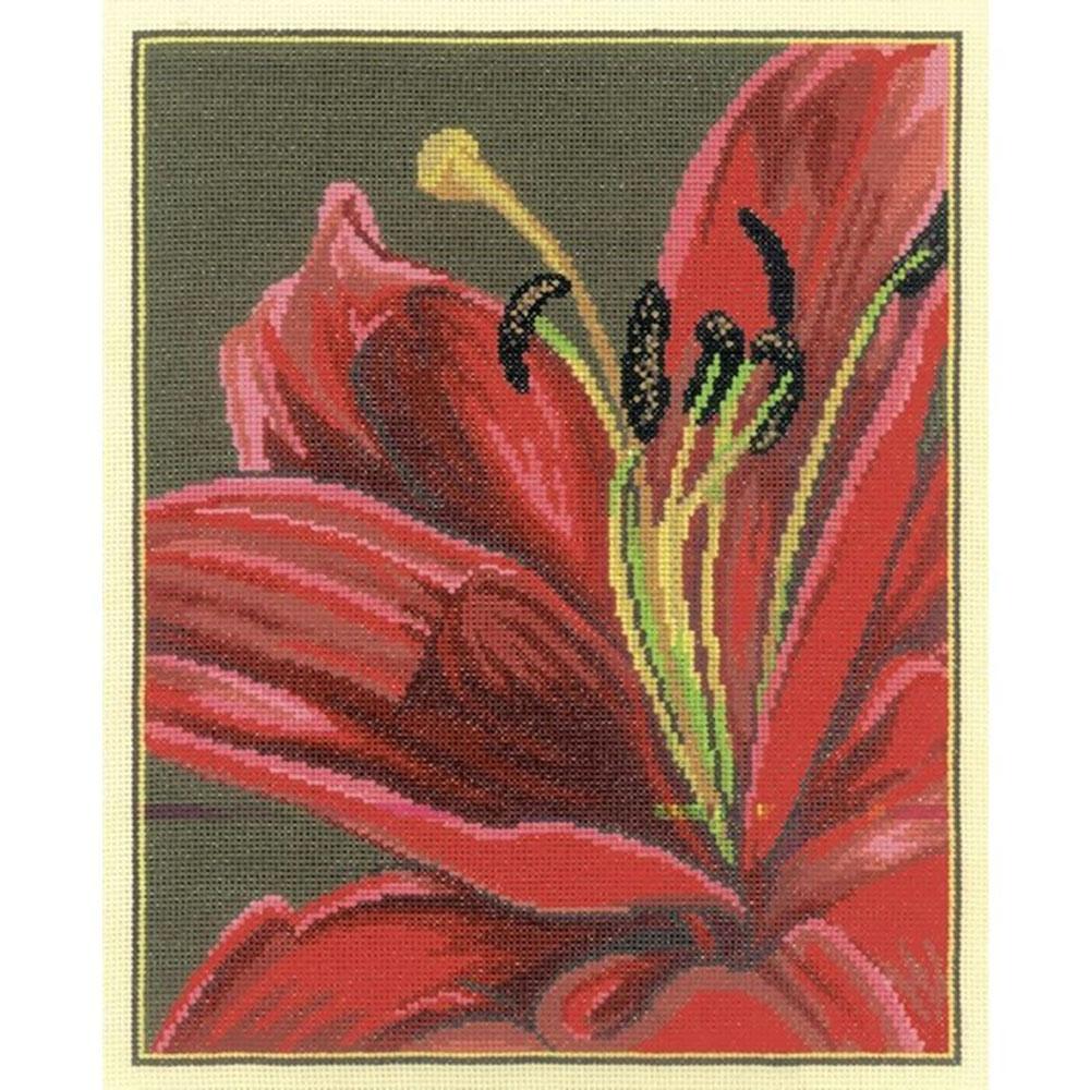 М280 Набор для вышивания 'Королевская лилия'