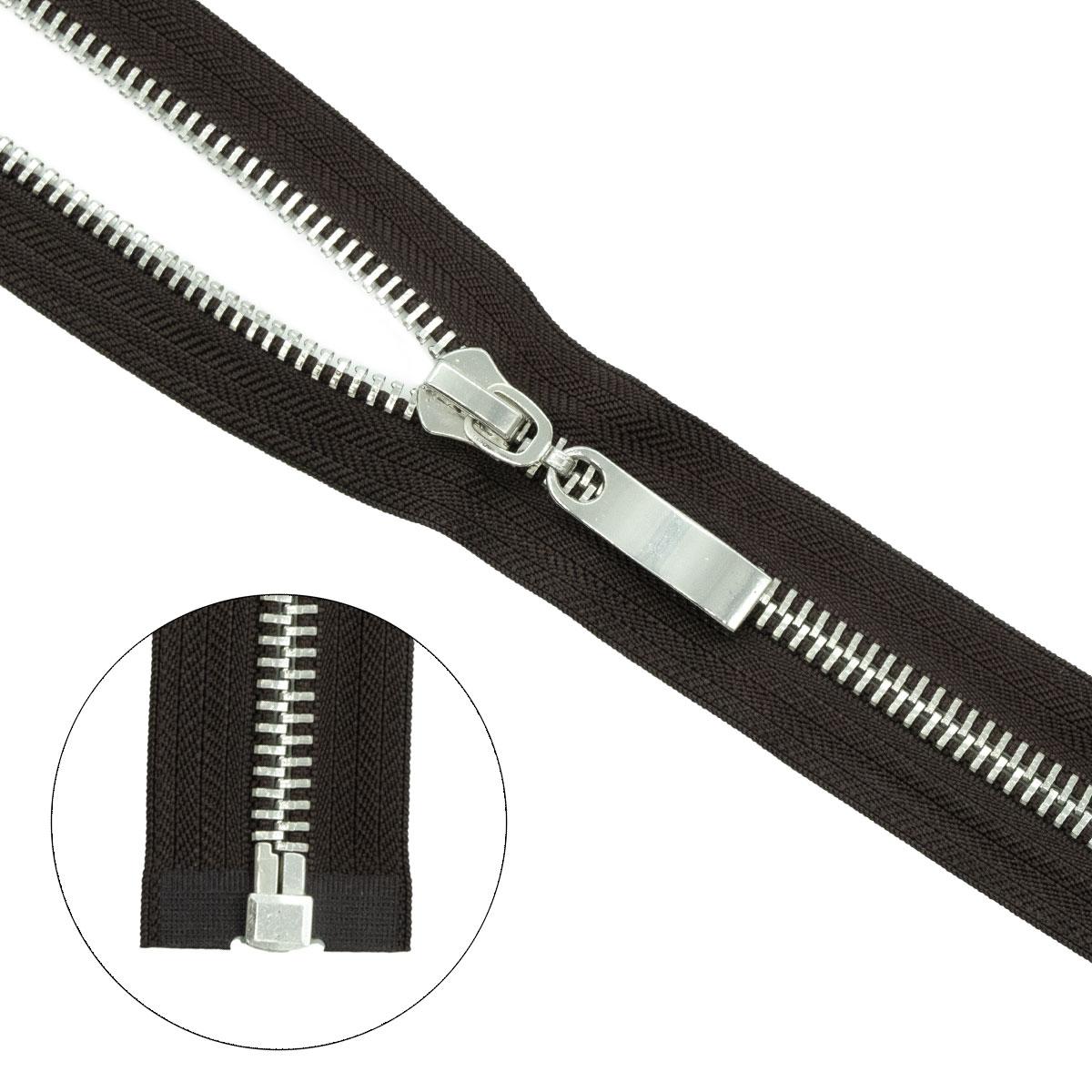 Молния металл-никель т8 1 замок 50см