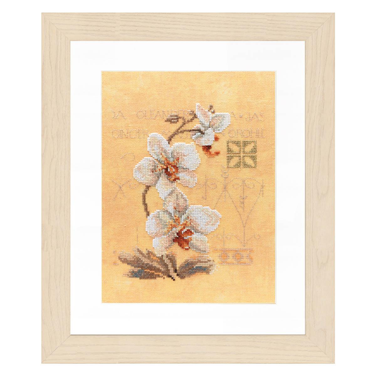 0008008-PN (34746) Набор для вышивания LanArte 'Восточные цветы' 17x23 см