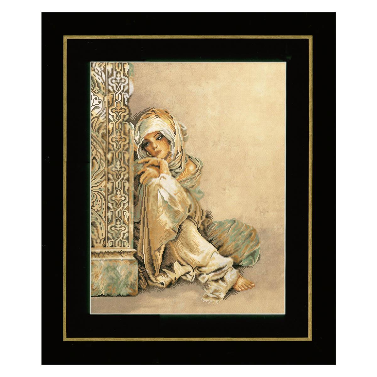 0008001-PN Набор для вышивания LanArte 'Арабская женщина' 34x44 см