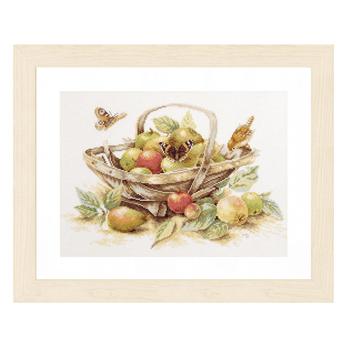 0007960-PN (34261) Набор для вышивания LanArte 'Летние фрукты' 39x29 см