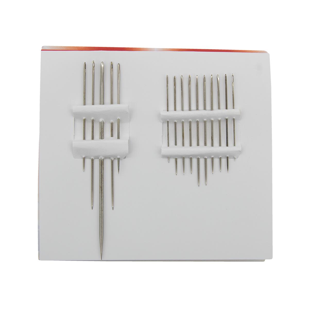 Иглы для шитья вручную С32-275 (в уп.15 игл)