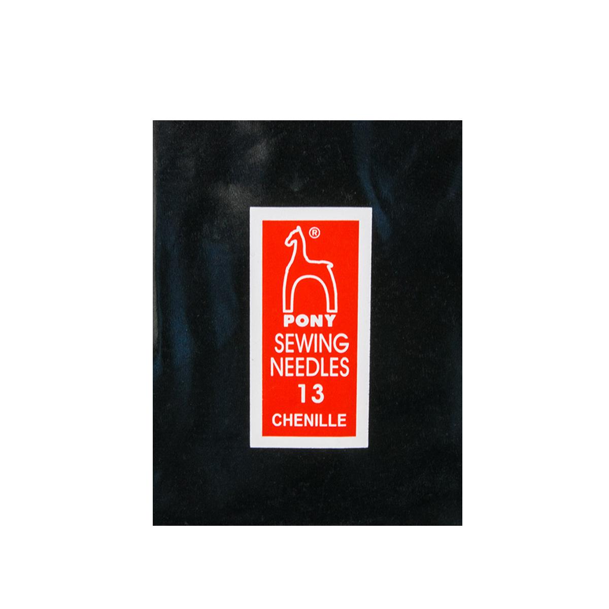 06151 Иглы для штопки №13, упак./25 шт., PONY
