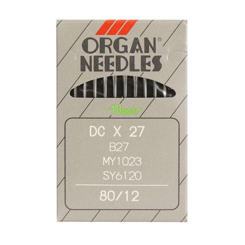 Иглы Орган DC * 27/ 80 (B-27) (уп.10шт.