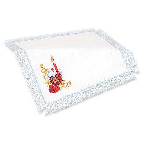 436 Набор для вышивания Riolis 'Салфетка 'Пасхальный набор', 27*27 см