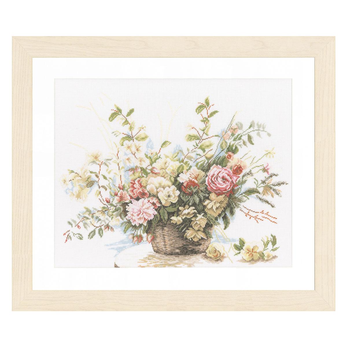 0008004-PN (34714) Набор для вышивания LanArte 'Букет роз' 49x39см