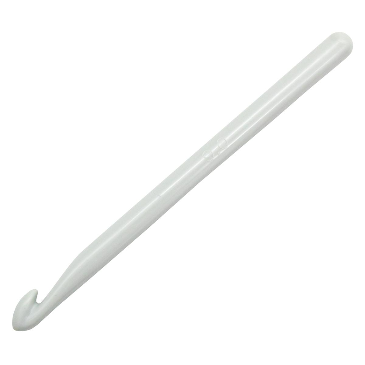 218502 Крючок для вязания, пластик, 9 мм*14 см, Prym