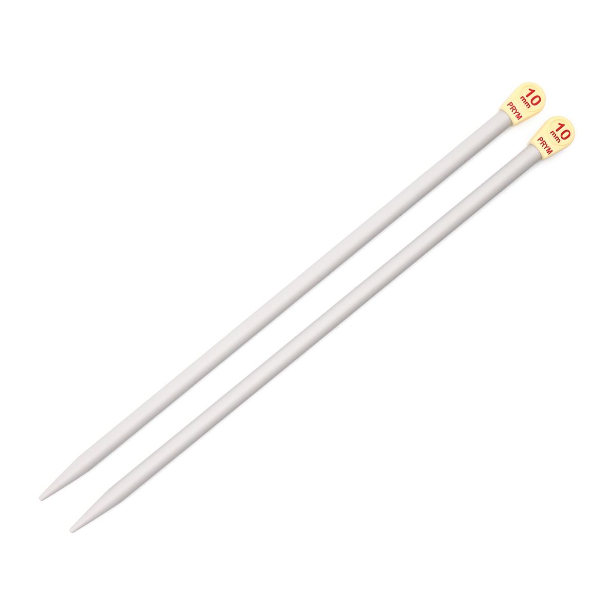 218221 Спицы прямые Prym 35*10,0 пласт.