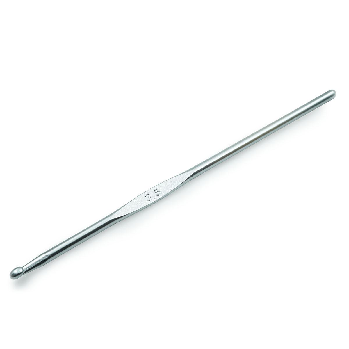 195184 Крючок для вязания, алюминий, 3,5 мм*14 см, Prym