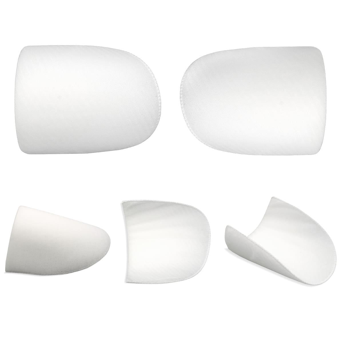 В-25 Плечевые накладки обшитые, втачные, белые, 25*140*210 мм