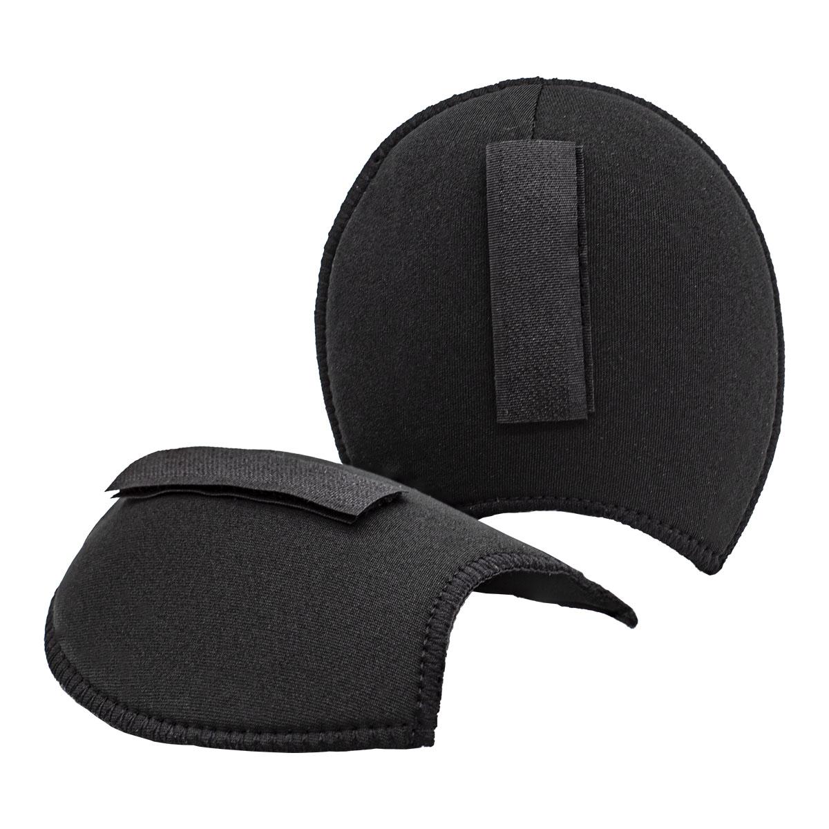 993832 Плечевые накладки с липучками (S), реглан, черный, 110*100*11 мм, упак./5 пар, Prym