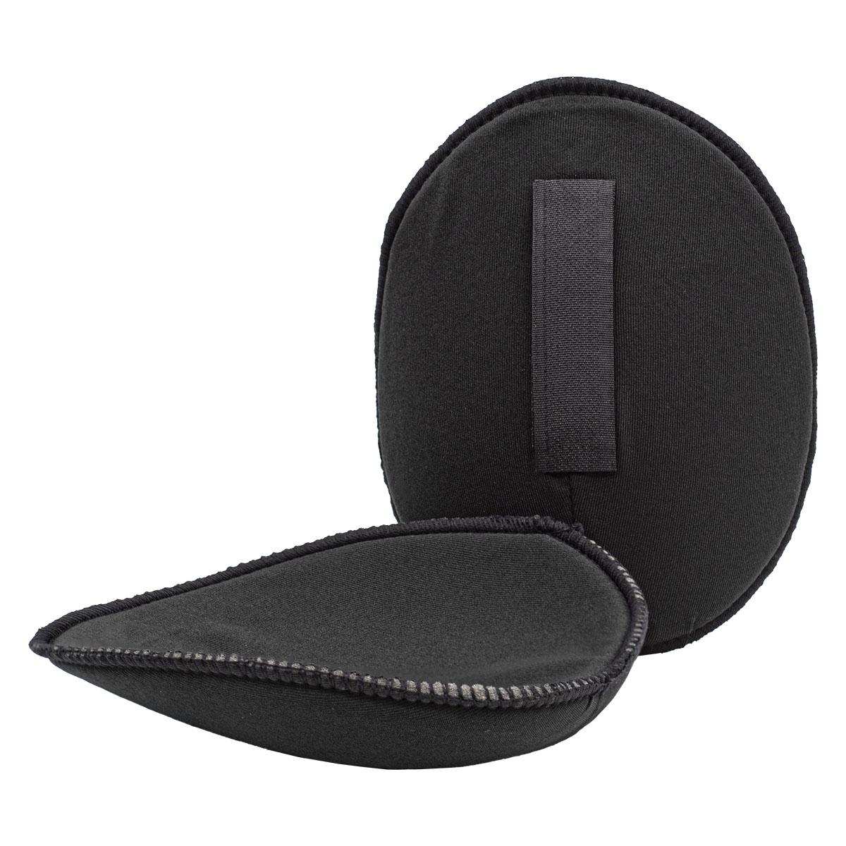 993837 Плечевые накладки с липучкой (M-L), реглан, черный, 115*150*11 мм, упак./5 пар, Prym