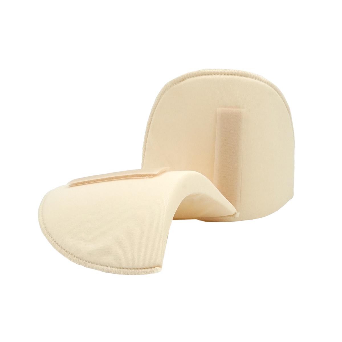993816 Плечевые накладки с липучкой (M-L), полумесяц, бежевый, 160*115*15 мм, упак./5 пар, Prym
