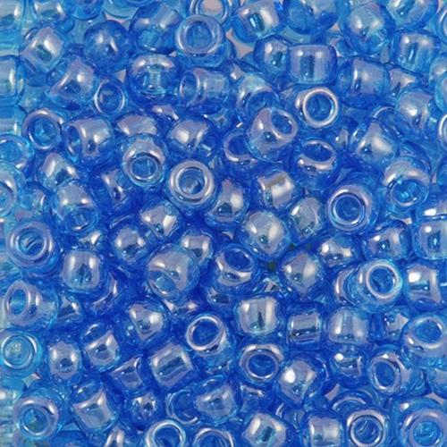 Бисер прозрачный с покрытием 6/0 (66030), круг. отв., 50г Preciosa
