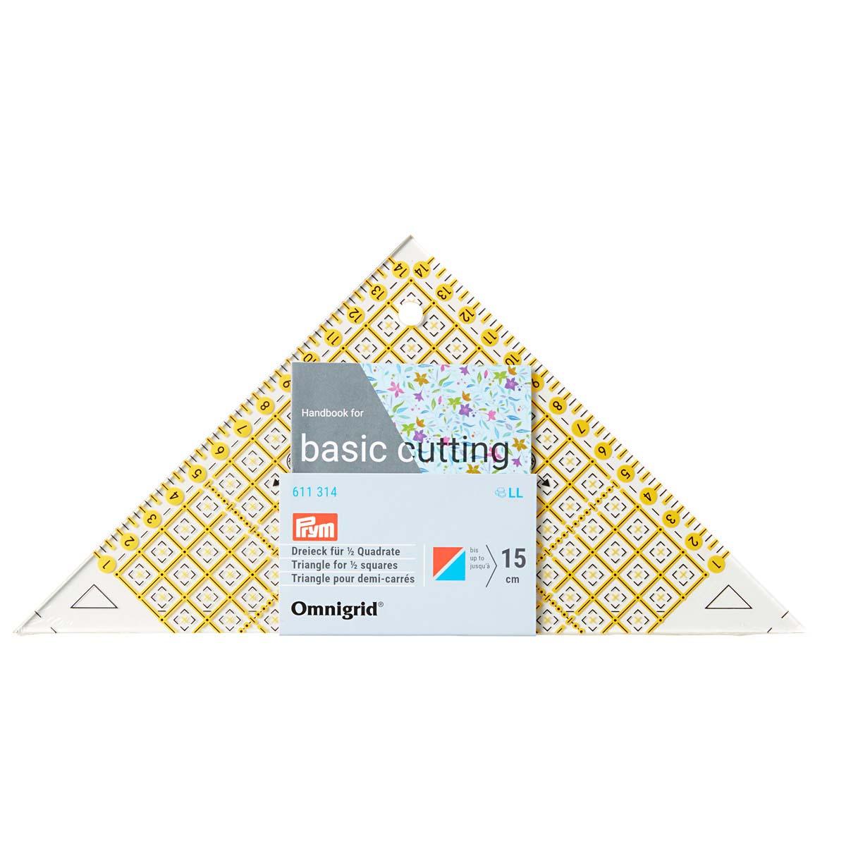 Проворный треугольник с сантиметровой шкалой Prym 611314