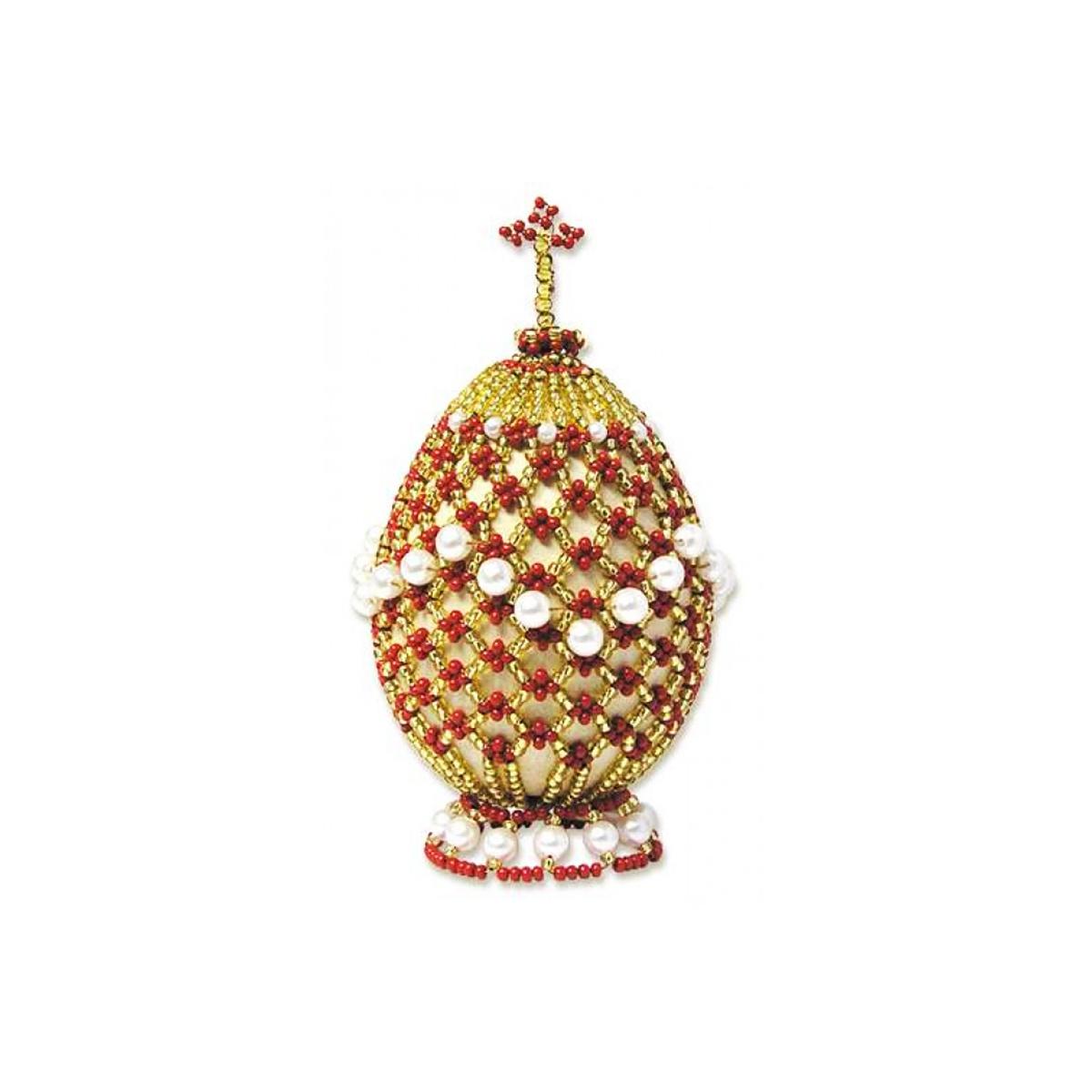 Б024 Набор для бисероплетения Riolis 'Яйцо пасхальное 2', 5*9,5 см