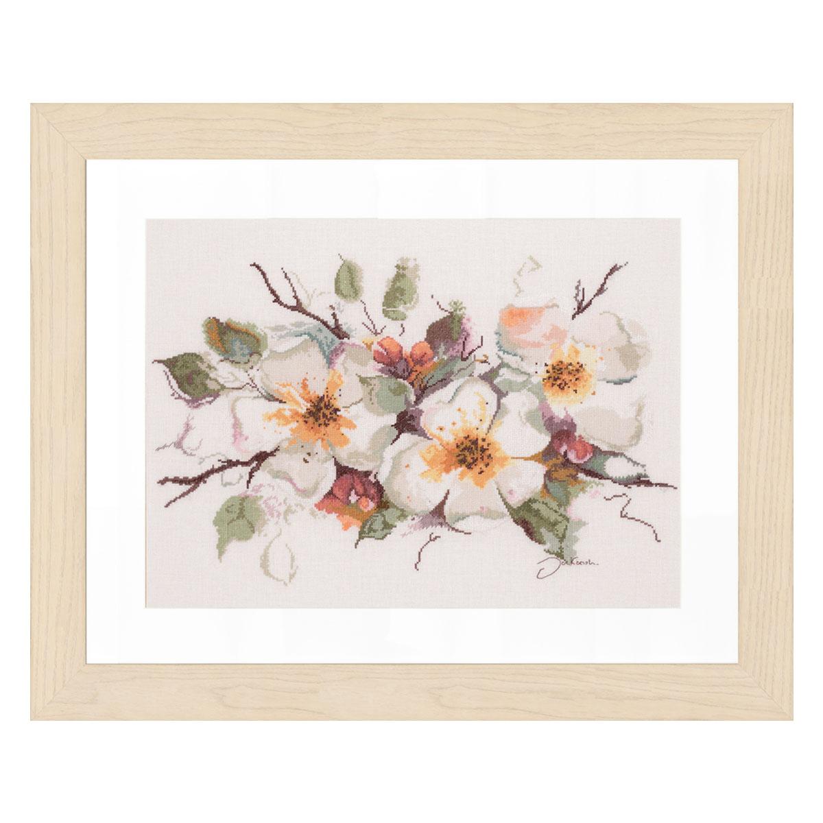 0008051-PN Набор для вышивания LanArte 'Цветение яблони' 49 х 39 см