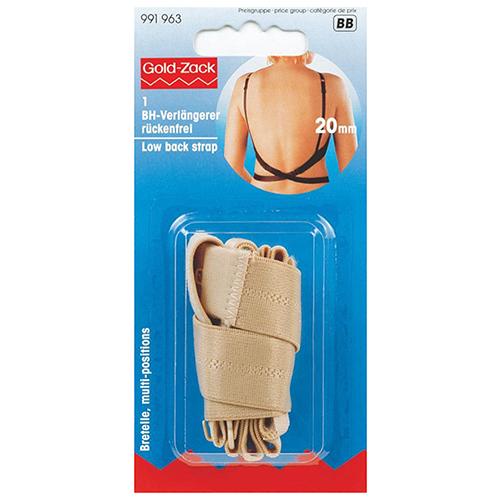 991963 Удлинитель застежки бюст. для платья с открытой спиной беж. Prym