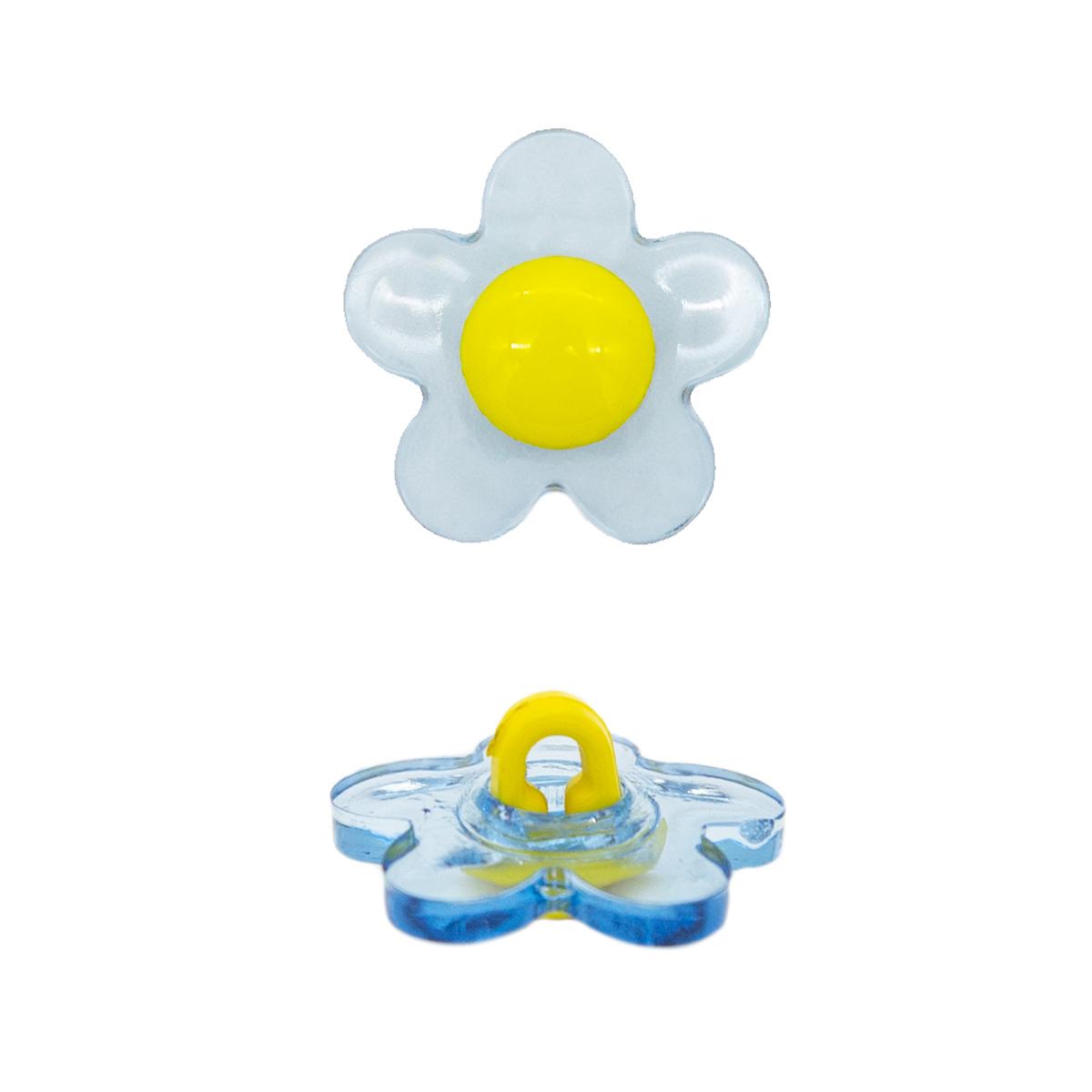 Пуговица декоративная 'цветок' 13-1125-115-1483-28