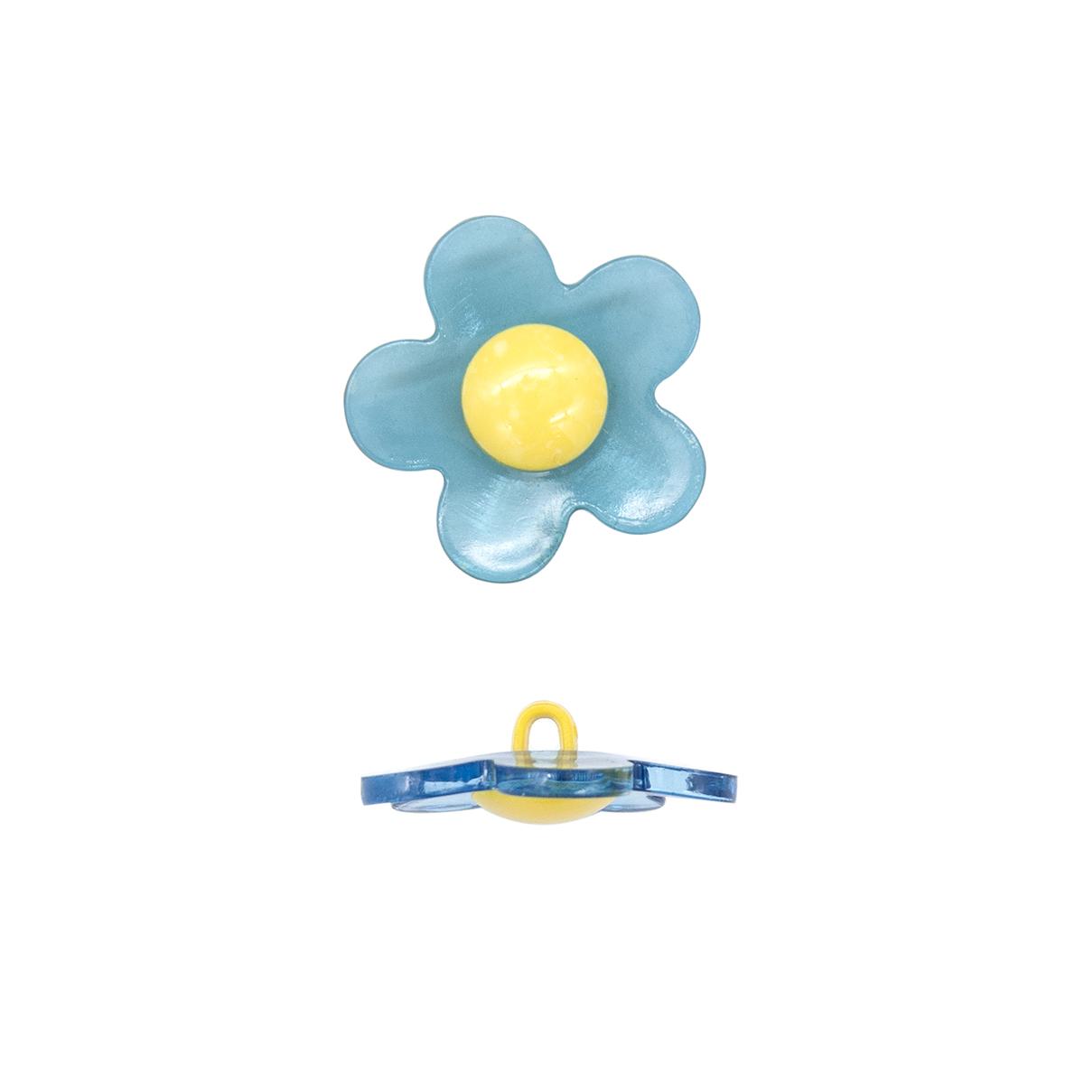 Пуговица декоративная 'цветок' 13-1125-115-1483-48