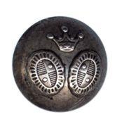 13-1006-17-32 Пуговица на ножке т.сереб.АВС'корона' ГР