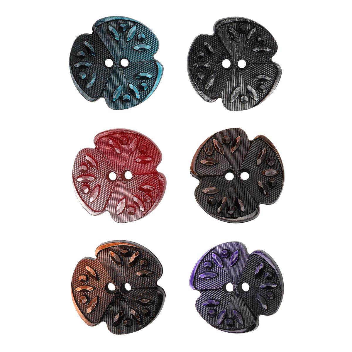 пуговица декоративная цветок