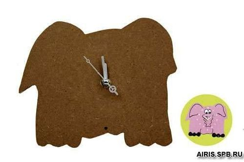 Часы Сделай сам в форме слона FC07 РТО