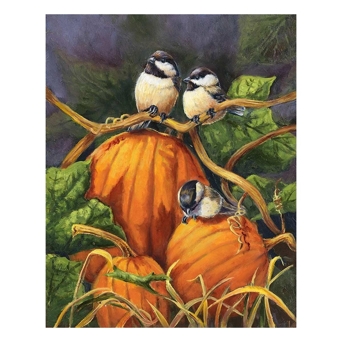 G-1129 Набор для вышивания 'Гобелен Классик' 'Маленькие птички 2', 21х26,4 см