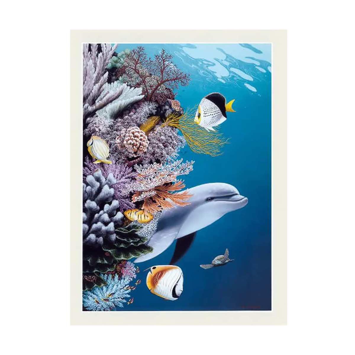 G-1131 Набор для вышивания 'Гобелен Классик' 'Морская жизнь', 22х31 см