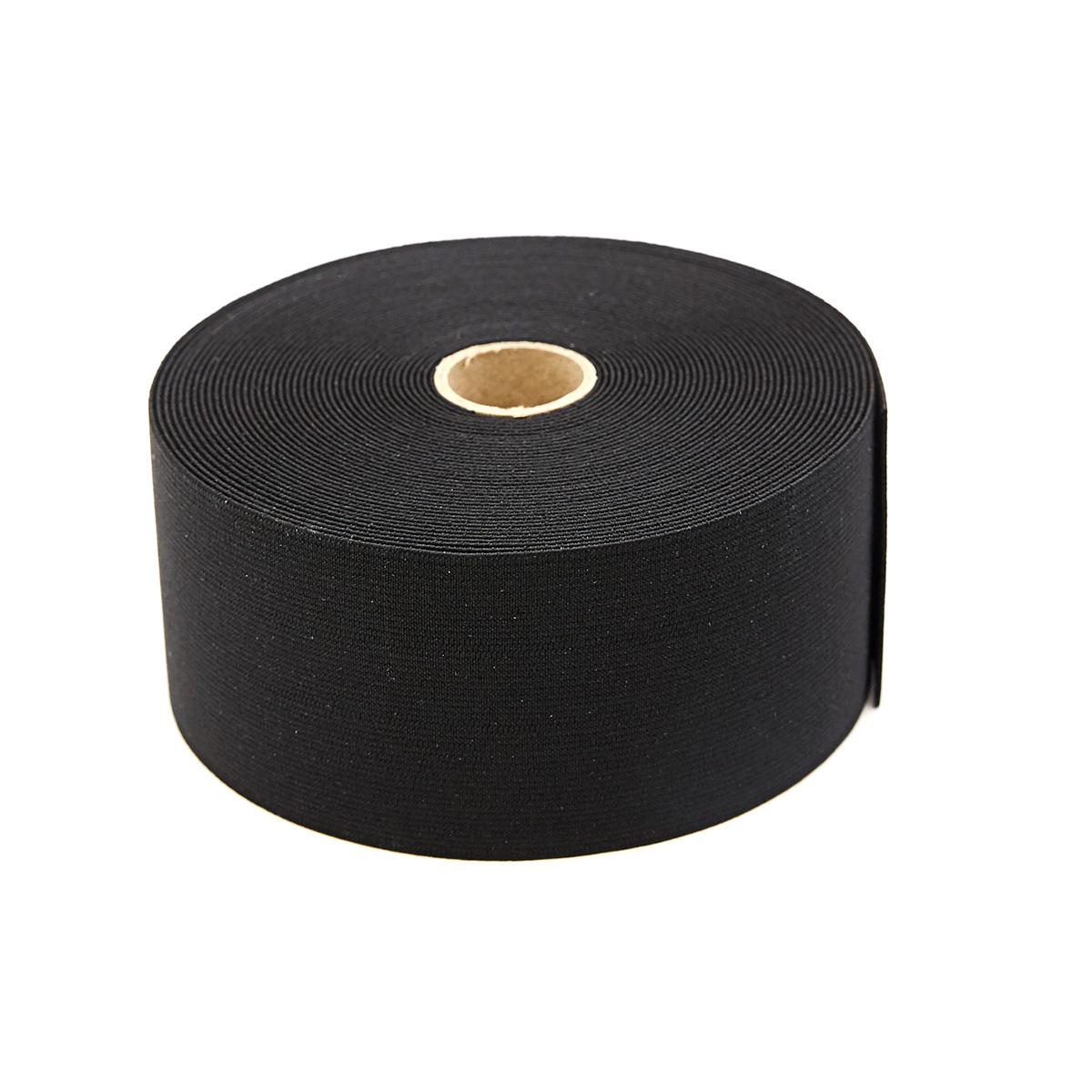 955617 Эластичная лента-пояс 60 мм черный цв. Prym