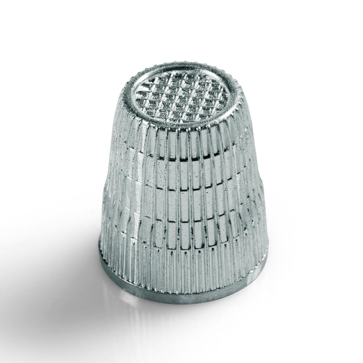 431845 Наперсток, цинк, хромовое покр., серебристый цв. 15 мм Prym